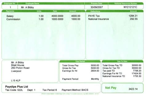 10 payslip templates word excel pdf formats