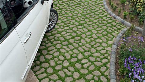 green driveway material garden paving