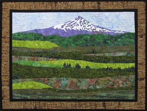 Quilt Oregon And Landscape Quilts On Pinterest Landscape Quilt Patterns