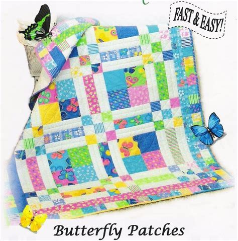 Butterfly Patches Quilt Pattern 418 butterfly by dianabeaubien quilting pattern