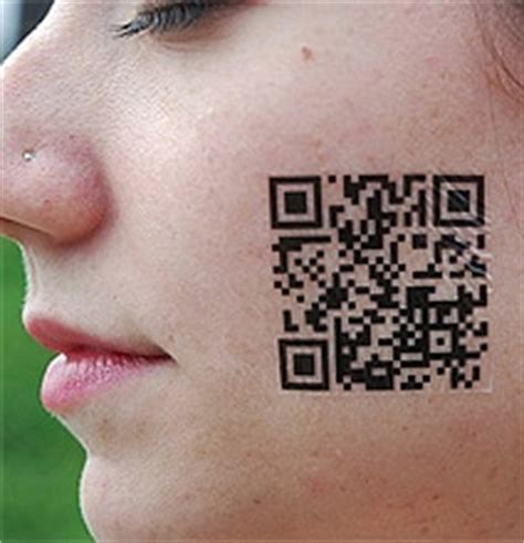 barcode tattoo do they scan scan yourself geeky barcode qr code tattoos
