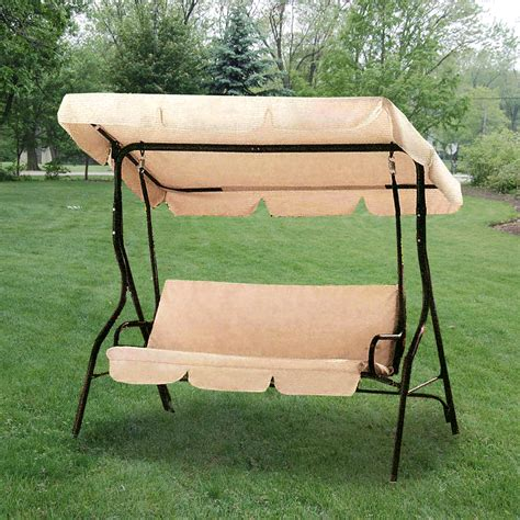 Patio Swing Big Lots Replacement Canopy For Park Ridge Swing Garden Winds