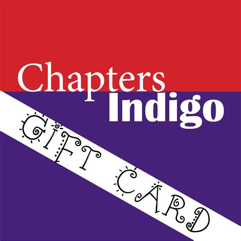 chapters indigo gift card 75 educatus ca