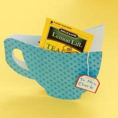 Tea Bag Holder Card Template by Mothers Fathers Day On S Day S