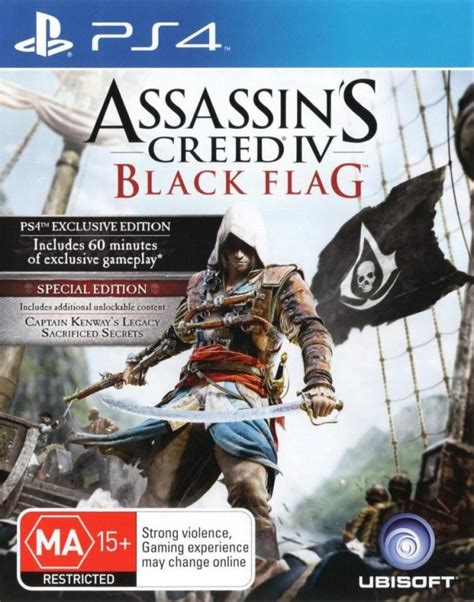 assassin s creed iv black flag box for playstation 4 gamefaqs
