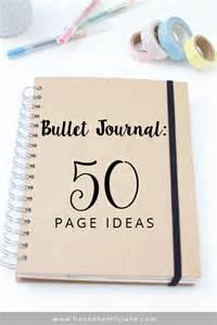 bullet journal tips journal ideas journaling pinterest bullets ideas
