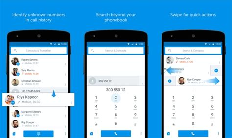 design application search truedialer gets material design look tech80p