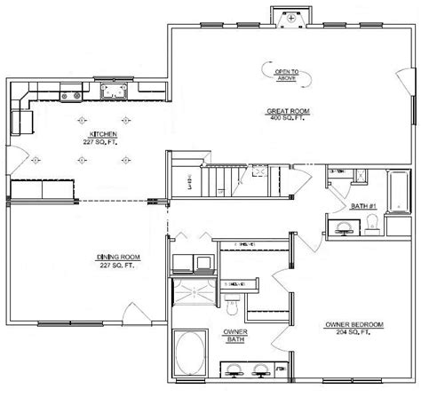 3 bedroom cabin floor plans three bedroom floor plans