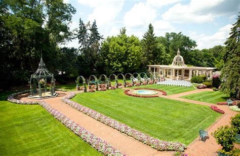 outdoor wedding venues in south jersey nj outdoor wedding venue garden weddings