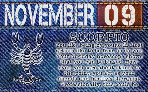 9 November November 9 november 9 birthday horoscope personality sun signs