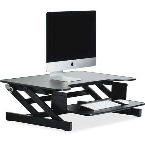 Llr81974 Lorell Adjustable Desk Monitor Riser Office Adjustable Monitor Stands For Desk
