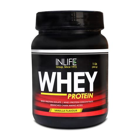 Whey Protein 1 Lbs buy inlife whey protein 1 lb 454g vanilla flavor at best price in india on naaptol
