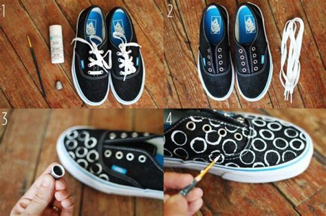 diy shoe designs 20 amazing diy sneakers makeover ideas