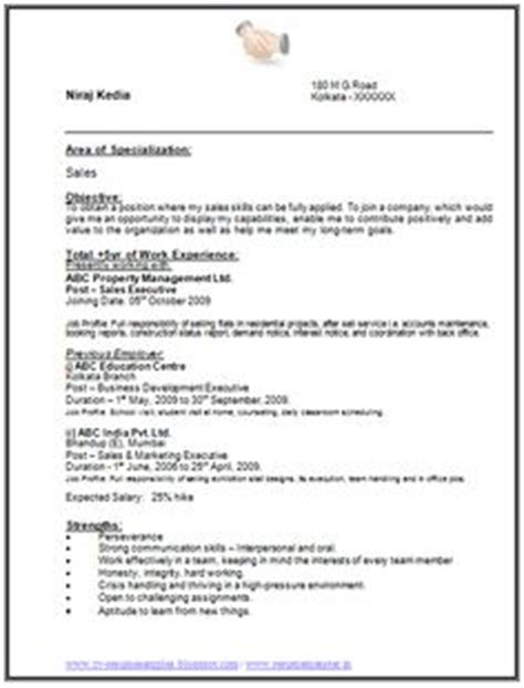 chartered accountant resume format freshers page 2 cv exles resume format