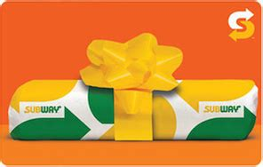 Subway Corporate Gift Cards - subway gift cards from cashstar