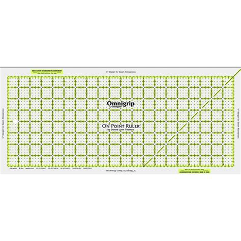 printable point ruler martingale omnigrid on point ruler