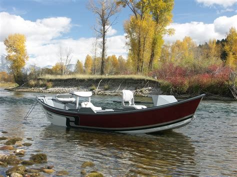 drift boat 14 6 aluminum low profile hyde drift boats