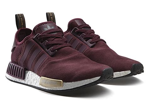 Adidas Nmd Purple Burgundy adidas unveils two s exclusive nmd runners in suede