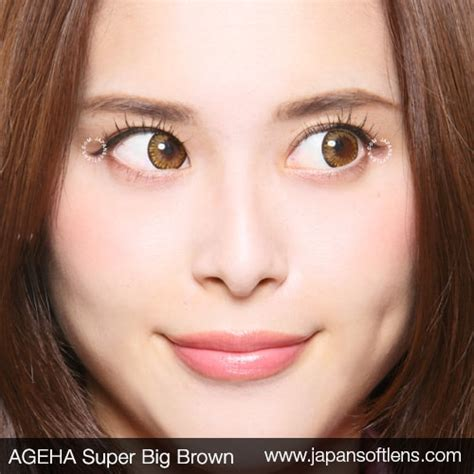 Softlens Big Series softlens brown ageha big brown japan softlens