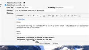 Ooo Mail Template by 4 Out Of Office Message Exles That Work When You Rest