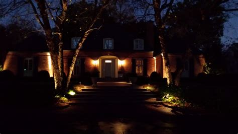 Led Landscape Lighting Piedmont Carolina Landscaping Landscape Lighting Services