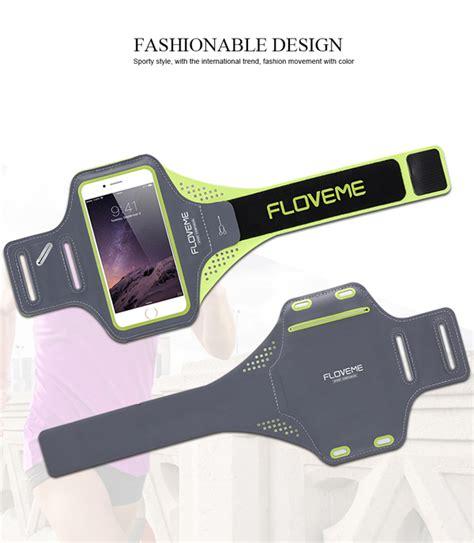 Sale Baseus Sport Armband Original floveme universal waterproof running sport armband for phone 5 5 inch sale banggood