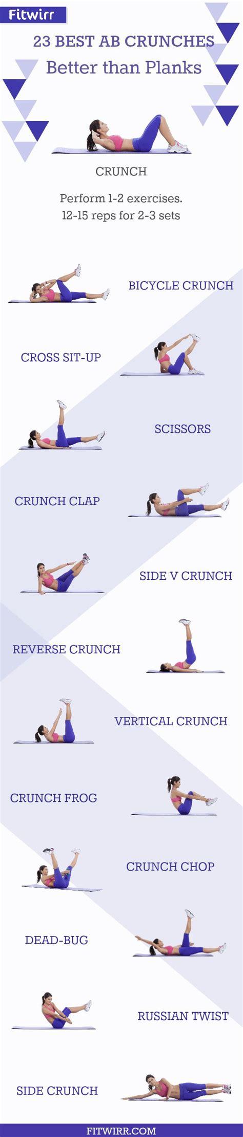 best crunches best 25 crunches ideas on 12 week challenge