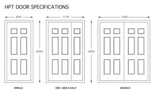 Size Of Front Door Door Dimensions Door Dimensions And Hinge Requirements