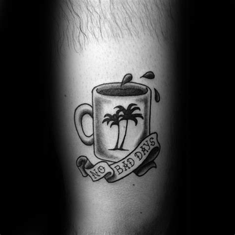 70 coffee tattoo designs for men caffeinated ink ideas