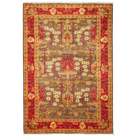 Arts And Crafts Area Rug Brown Arts And Crafts Area Rug Rugs For Sale At 1stdibs