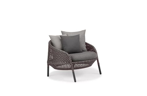 Dedon Lounge by Dedon Ahnda Lounge Chair
