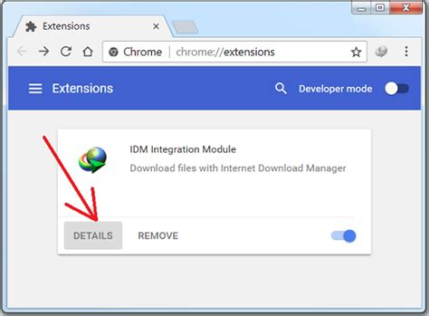 chrome extension idm idm integration into chrome does not work what should i do
