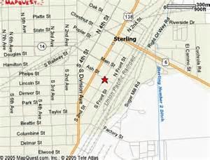 map of sterling colorado marsau s auto parts location