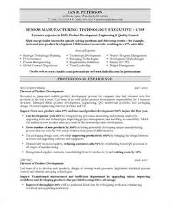 Technology Executive Sle Resume by 20 Best Images About It Resume Sles On