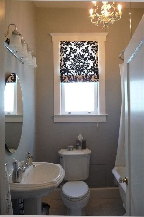 curtains bathroom window ideas 23 bathrooms with roman shades messagenote