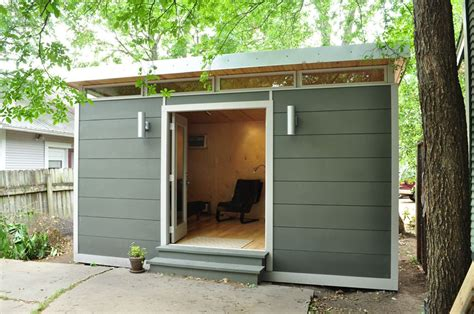 backyard studio with bathroom economy of space tiny house pinterest small studio