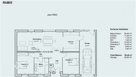Echelle Plan Maison by Plan Maison Neuve 1 Decorating Ideas