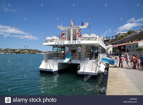 glass bottom boat menorca mahon don joan glass bottom boat port mahon menorca spain
