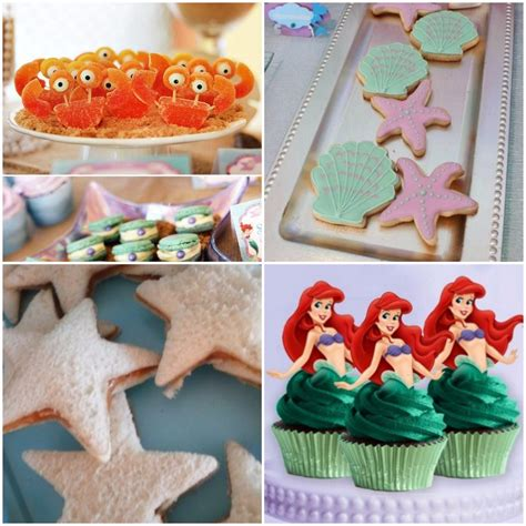 como decorar un pastel de la sirenita ariel invitaciones infantiles e ideas para celebrar un