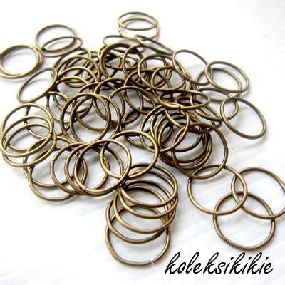 Kait Gantungan Kunci Push Gold ring mb 15 mm koleksikikie