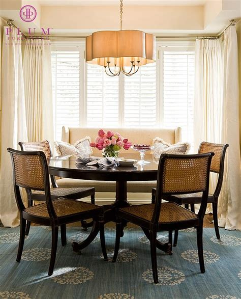 Kitchen Table With Settee breakfast nook ideas traditional kitchen plum furniture