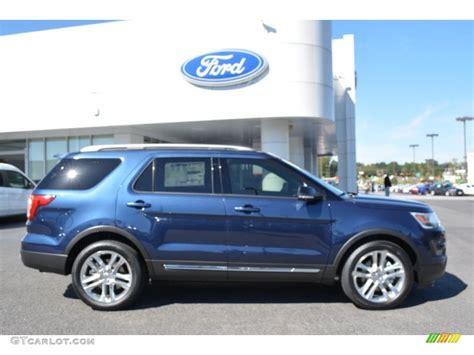 2016 ford explorer blue 2016 blue metallic ford explorer xlt 107685513