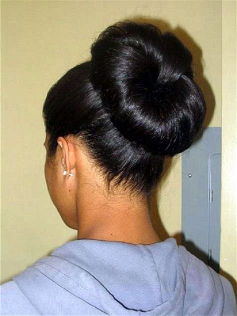 pics of black women pretty big hair buns with added hair 147 best images about gr8 indian massive bun on pinterest