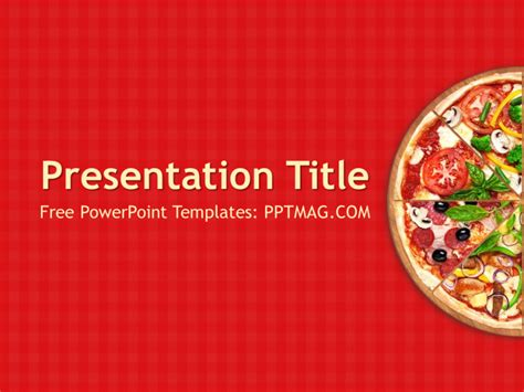 pizza template free free pizza powerpoint template free pizza powerpoint
