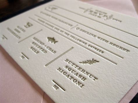 Thick Paper Wedding Invitations by Kerri And Steven Thick Paper For An Look