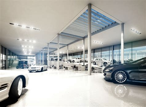 mercedes showroom interior car showrooms green your space group