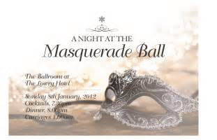 masquerade party invitations templates