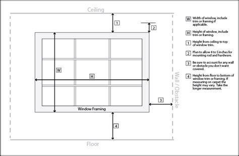 how do you measure a window for curtains measure cwinn designs