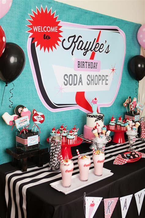 Handmade Shop Names - a retro soda shoppe birthday anders ruff custom