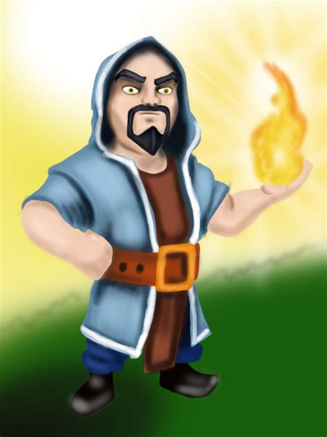 Clash Of Clans Wizard C003 learn how to draw wizard from clash of the clans clash of the clans step by step drawing